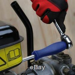 123PCs Tool Set Hand Car Repair Ratchet Spanner Wrench Socket Set Professional