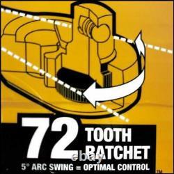 184 Piece DEWALT BLACK CHROME Mechanic's Ratchet Tool Set LIFETIME WARRANTY