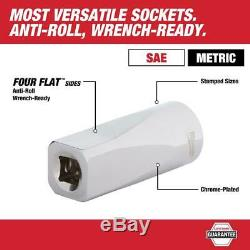 1/2 In. Drive Sae/Metric Ratchet And Socket Mechanics Tool Set (47-Piece)