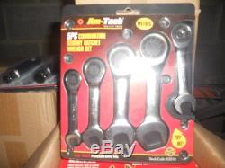 24 Volt 1/2 Drive cordless impact wrench + A set of 5 Stubby ratchet spanners