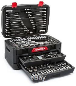 268 Pc Mechanics Tool Set Box Portable Chest Sockets Wrenches Ratchet Garage NEW