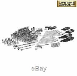 268-Piece Tool Set, Wrench, Ratchet, Multi-Bit Screwdriver Mechanics Hand Tools