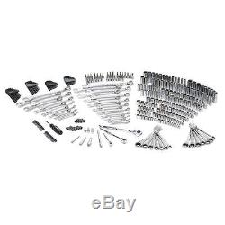 349 Piece Wrench Hex Key Ratchet Screwdriving Bits Socket Mechanics Tool Kit Set