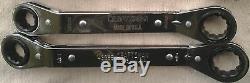 5 Pc SAE Craftsman USA Box-End Offset Ratcheting Wrench Set 43375
