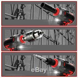 600Nm Electric Cordless Impact Wrench Gun Ratchet 69800mAh Lithium-Ion Set