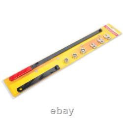 8pcs Ratcheting Wrench Serpentine Belt Tool Kit Automotive Repair Set CA