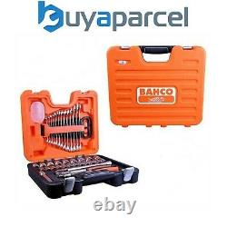 Bahco BAHS400 Socket and Spanner Set of 40 Pieces Metric 1/2in Drive S400