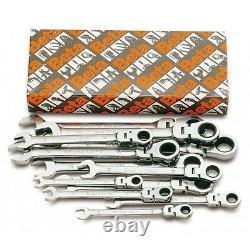 Beta 142SN/S13 13 Piece Flexi Head Metric Ratchet Combination Spanner Set 7-19mm
