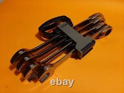 Blue Point 21-25mm Ratchet Spanner Set BOERM704 Inc VAT New As Sold By Snap On