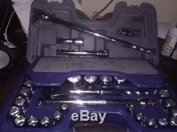 Blue-Point BLPGSS1233 1/2 drive Ratchet Socket Set 33pc SAE Metric SET