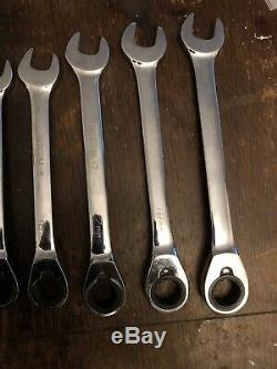 Blue Point, Ratchet Spanner Set, 8-19mm. As Sold By Snap On