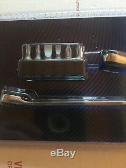 Blue Point Socket/Bit Ratcheting Set. 1/4 Drive. Push Button Socket Release