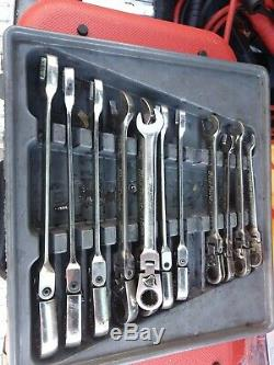 Blue point by snapon. Flexible ratchet spanners