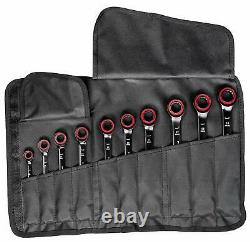 Bosch Professional PRO 10-Part Spanner Set with Ratchet Function size 8mm-19mm