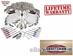 CRAFTSMAN 365 pc MECHANICS TOOL SET with Ratcheting wrenches! NEW FREE SHIPPING
