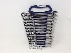 (Closeout) GearWrench 9901 12 Piece Metric Flex-Head Ratcheting Wrench Set