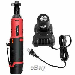 Cordless 3/8 Electric 12V Ratchet Wrench Tool Set