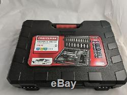 Craftsman 165 pc Mechanics Tool Set Standard Metric Socket Ratchet Wrench 999665
