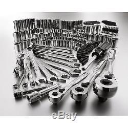 Craftsman 165pc Mechanic Tool Set Standard Metric Ratchet Socket Kit Wrench Case