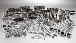 Craftsman 311 Steel Piece Mechanics Tool Set Ratcheting Wrench Combination NEW