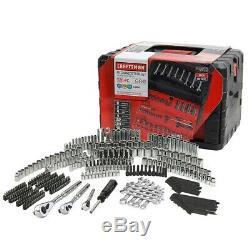 Craftsman 320-Piece Mechanic Tool Set with Case, Socket Wrench Ratchet Bit Kit
