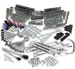 Craftsman 348 piece Mechanics Tool Set Ratcheting wrench socket SAE & Metric NEW