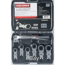 Craftsman 3D Transformer Tool Ratcheting Wrench Set Metric NIB MSRP $130
