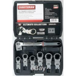 Craftsman 3D Transformer Tool Ratcheting Wrench Set SAE/Inch
