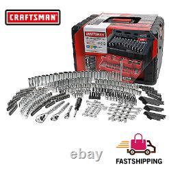 Craftsman 450 Pc Mechanics Tool Set Standard Metric Sae With Case Wrench Socket
