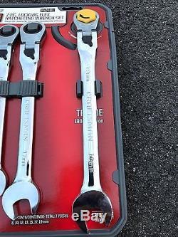 Craftsman 7 Metric Locking Flex Ratcheting Wrench Set #42401