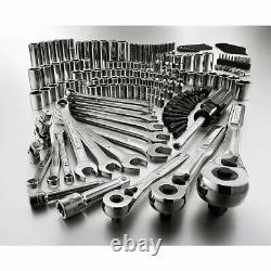 Craftsman Mechanics Tool Set Socket Set 165 Pc Lifetime Warranty New 38165