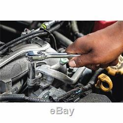 DEWALT Mechanics Tool Set 205 Pcs Durable Blow Mold Case Comfort Variety New