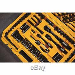DeWalt 184-piece Polished BLACK Chrome Tool Set FAST SHIPPING