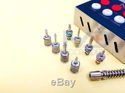 Dental Implant Universal Torque Wrench Ratchet Full Set Hex Drivers Kit