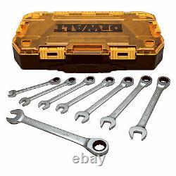 Dewalt DWMT74734 8-Pc. Metric Ratcheting Combination Wrench Set Quantity 1