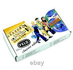 Felo Classic 18 Piece Metric Socket & Bit Set with Ratchet and Wood Case