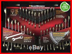 GearWrench 32pc SAE/Metric Ratcheting Combination and Stubby 70032 Wrench Set