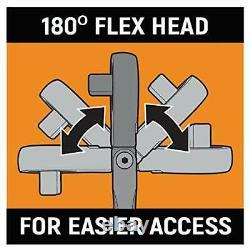 GearWrench 4 Piece Full Polish Flex Handle Ratchet Set 81230F NEW SEALED