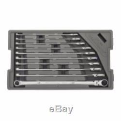 Gearwrench 10pc 120XP XL Ratcheting Flex Head Spline Wrench Set 1/4 3/4 #86142