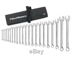 Gearwrench 81916 22 Piece Combination Wrench Set Non-Ratcheting 6-32Mm