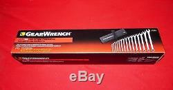 """Gearwrench 81918 15 pc Combination Wrench Set Long Pattern 5//16/"""" 1-1//4 /"""" 12Pt"""