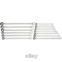 Gearwrench 85985 15 Piece Metric XL Gearbox Combination Ratcheting Wrench Set