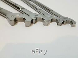HTF Vintage Craftsman USA Extreme Grip Ratcheting Wrench Set SAE VA Series