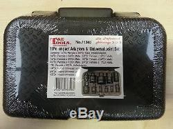 Impact Socket Adaptors & Impact Universal Joint Set 11 pce T & E tools 76348 new