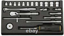 KTC Socket Wrench Set Nepros NTB222XA Insertion 6.3mm JAPAN Kyoto Machine Tool