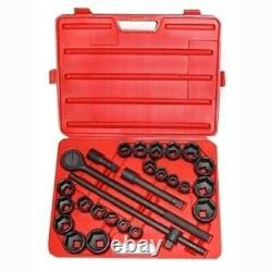 Large Big 3/4 Drive Heavy Duty Impact Socket Wrench Tool Set