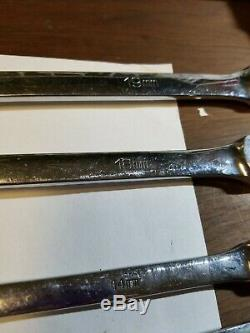 MATCO METRIC LONG DOUBLE FLEX HEAD RATCHETING WRENCH SET 5pc. 13mm not working