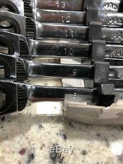 Mac Tools Metric Reversible 6 Point Ratcheting Wrench Set SRWM0612K