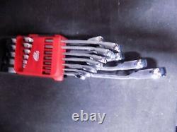 Mac Tools Precision Torque 12pc Reversible Ratcheting Wrench Set SAE SRWO126PT
