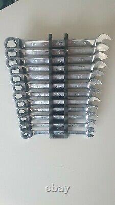 Mac Tools Ratchet Spanner Set 8mm 19mm Spanner Holder Rack